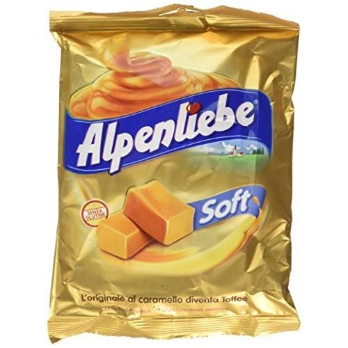 Confezione con 12 caramelle Alpenliebe da 1800gr