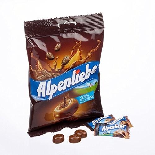 18 confezioni da 96gr di Alpenliebe Espresso