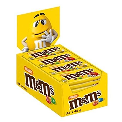 24 M&Ms Confetti Al Cioccolato con arachidi