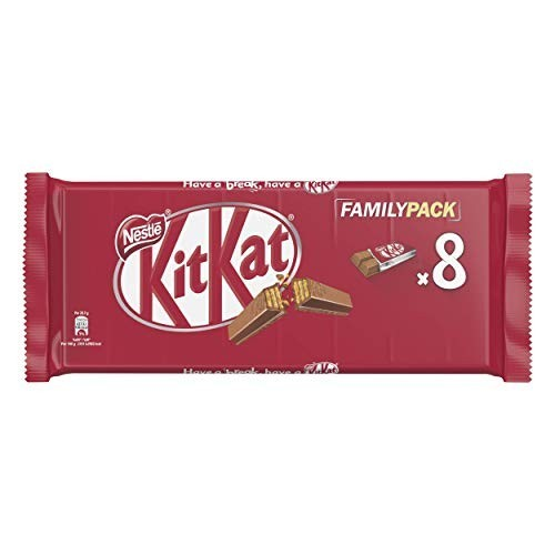 8 KitKat Nestlé, Wafer al cioccolato al latte