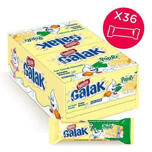36 Barrette cioccolato bianco Nestlé Galak