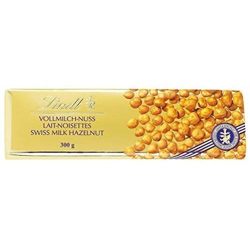 Cioccolata Lindt latte e nocciola Gold da 300gr