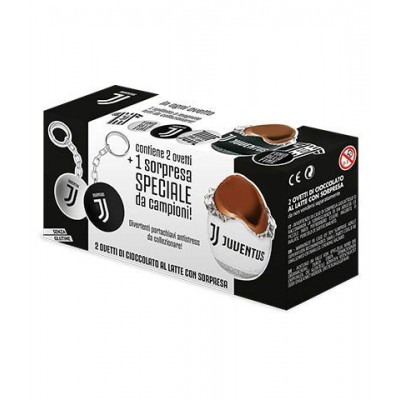 Ovetti di cioccolato al latte F.C Juventus
