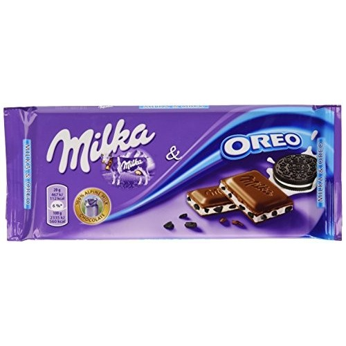 Tavoletta cioccolato Milka Oreo da 100gr