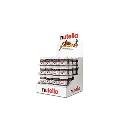 64 mini vasetti Nutella da 25g ognuno