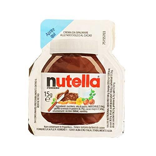 120 vaschette di Nutella Ferrero monodose da 15gr
