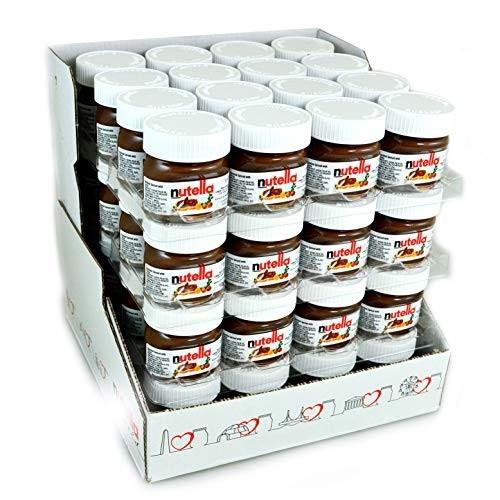 64 mini barattoli in vetro Nutella - Ferrero