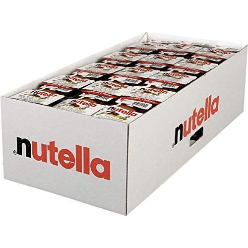 Dispenser con 120 porzioni di Nutella da 15gr