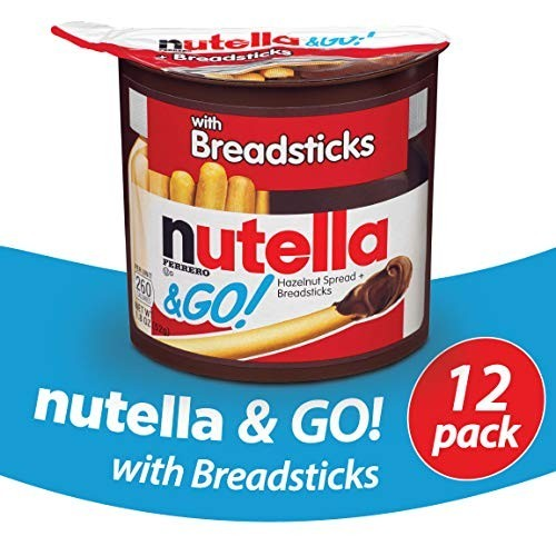 12 Snak Ferrero Nutella & Go da 52g