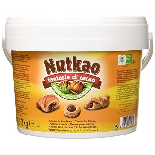 Secchio di crema al cacao e cocciole Nutkao