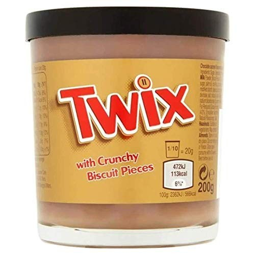 Crema biscotti Twix da 200g