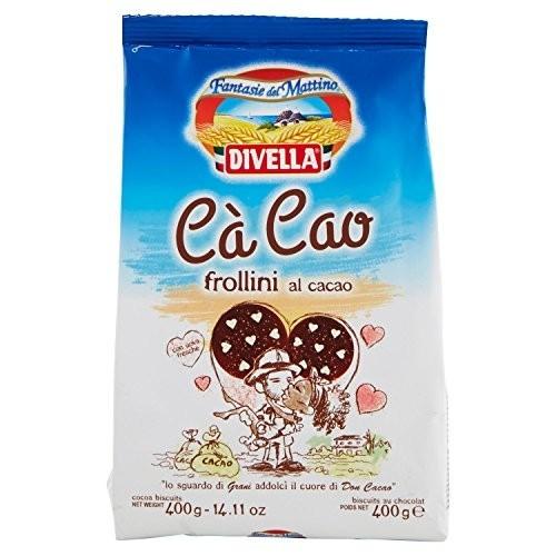 Biscotti Frollini al Cacao da 400 gr - Divella