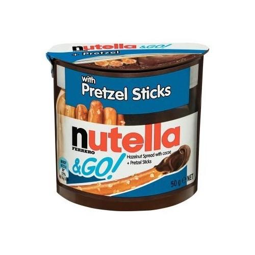 24 confezioni di Nutella e Go da 50g