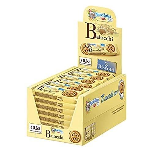 42 Biscotti Baiocchi con crema alla Nocciola e Cacao