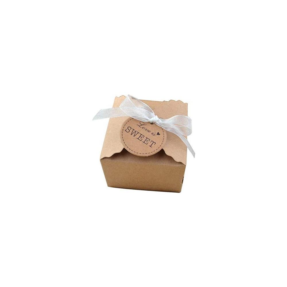 50 scatoline matrimonio con etichetta Love is Sweet