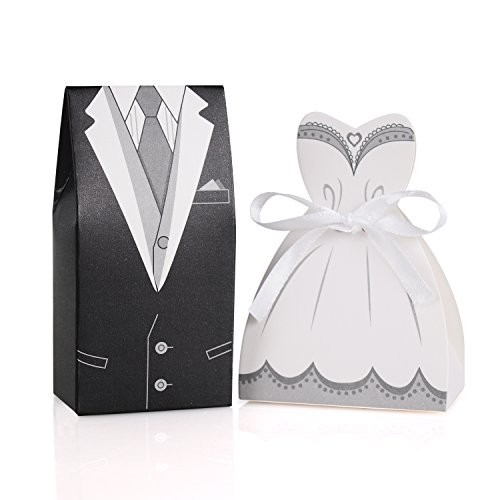 200 Porta confetti Matrimonio sposo/a
