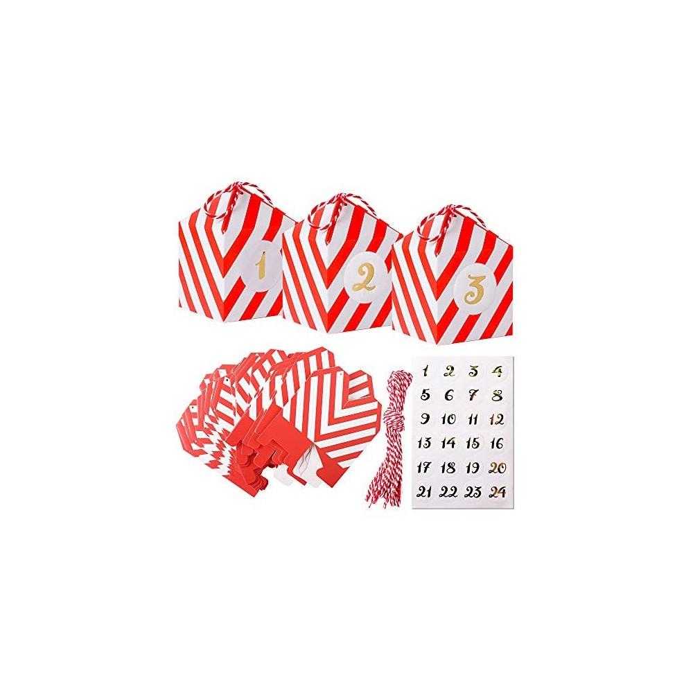 24 scatoline laurea con 24 Adesivi per caramelle