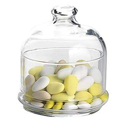Barattolo per caramelle con cupola in vetro - Varotto & C