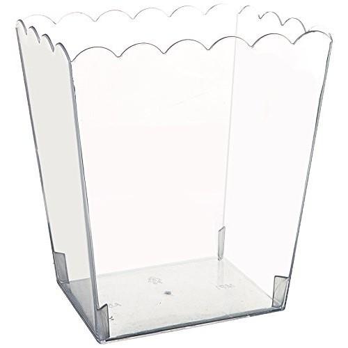 Contenitore di plastica Rettangolare 14 x 11 x 15 cm