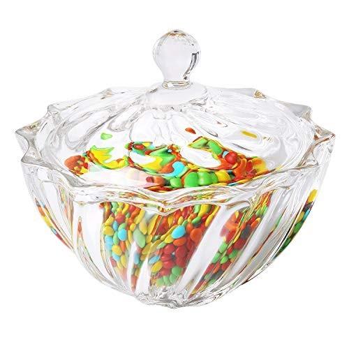 Barattolo per caramelle elegante di vetro