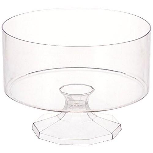 Contenitore di plastica tondo, 15 x 11 cm
