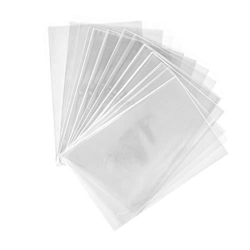 200 sacchetti di plastica trasparente in cellophane 10 x 15 cm