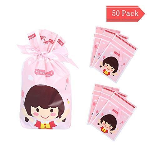 50 Sacchetti per caramelle bambina