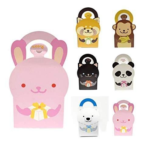 30P sacchetti animali per caramelle