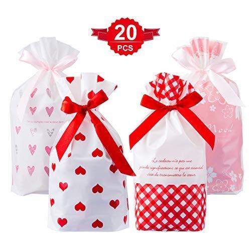 20 sacchetti per caramelle, grafiche bambina
