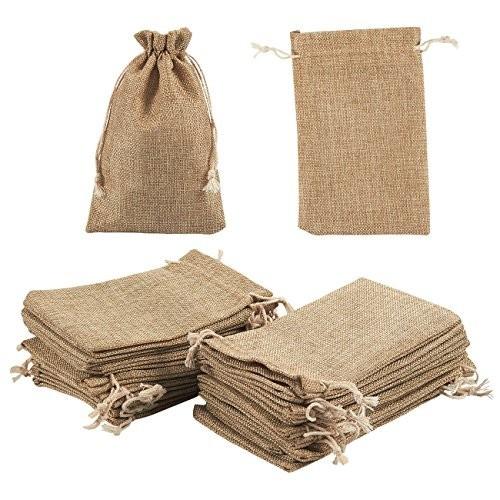 24 sacchetti regalo in iuta