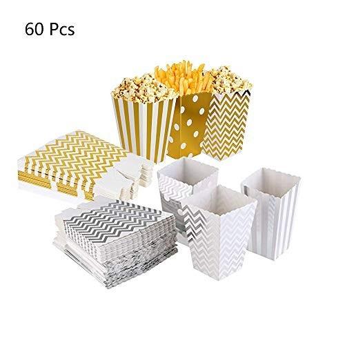 60 Scatole oro per caramelle assortite