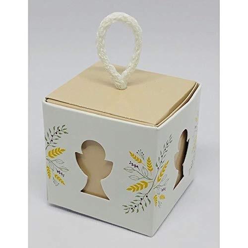 10 scatole porta caramelle Prima Comunione
