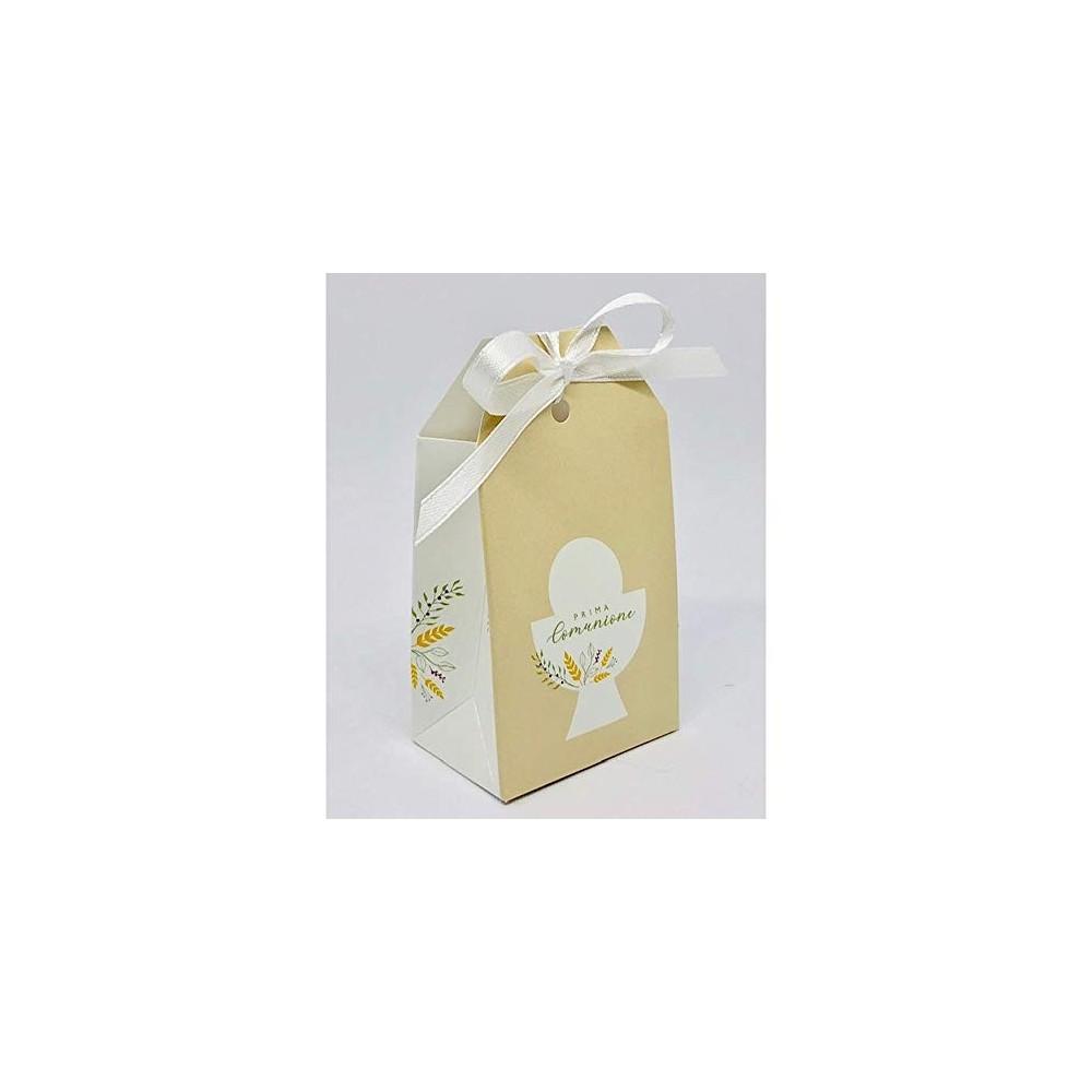 20 scatoline Prima Comunione calice 5.5x3.5x10 cm