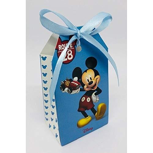 20 scatoline Mickey Mouse Go - Topolino da 5.5x3.5x10 cm