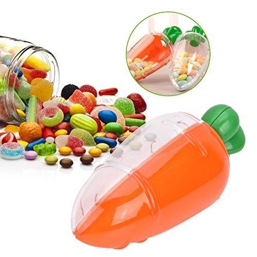 12 scatoline caramelle forma carota Bing