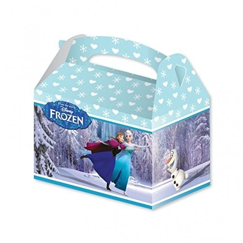 4 Box scatole Frozen per feste