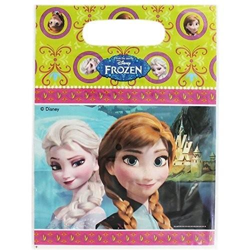 6 Sacchetti porta caramelle Frozen - Il Regno di Ghiaccio™