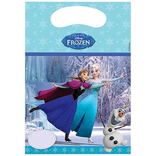 6 sacchetti per caramelle Frozen Disney