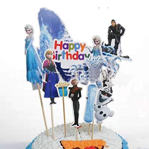 Cupcake Topper Frozen Disney