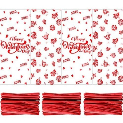 120 bustine trasparenti San Valentino