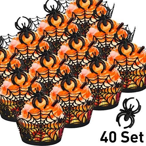 40 porta Cupcake Halloween