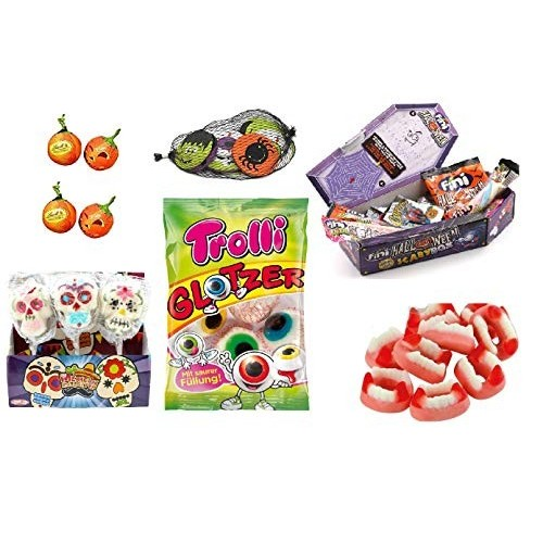 Kit halloween Party mix di caramelle e cioccolate horror