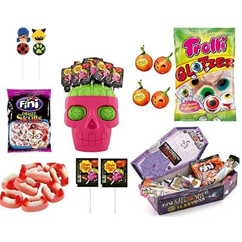 Kit halloween dolcetto o scherzetto mix di caramelle