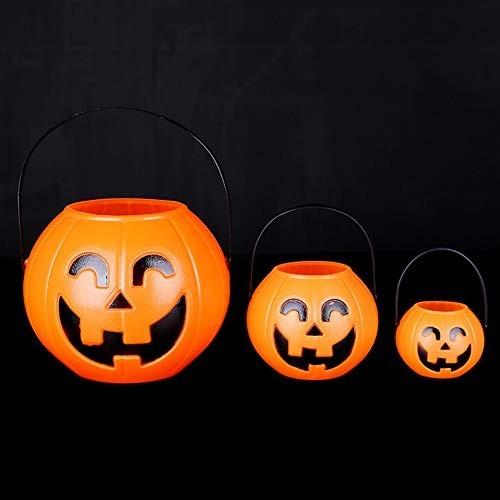 Secchio zucca Halloween per caramelle