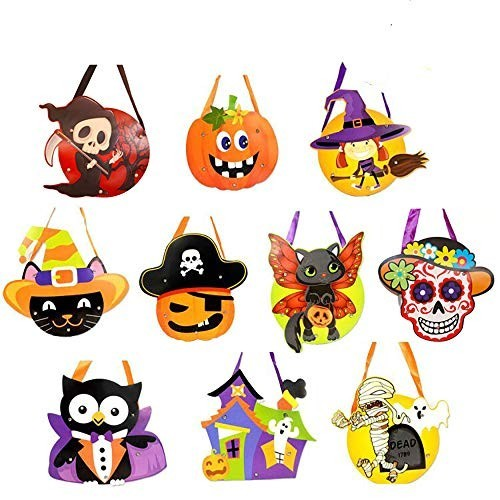 10 Sacchetti Halloween per caramelle