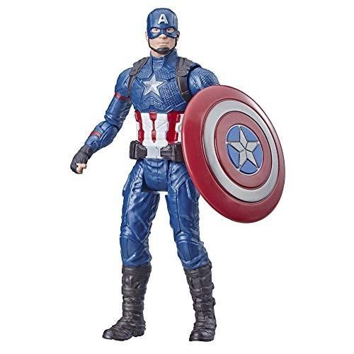 Modellino giocattolo Captain America da 15 cm - Avengers