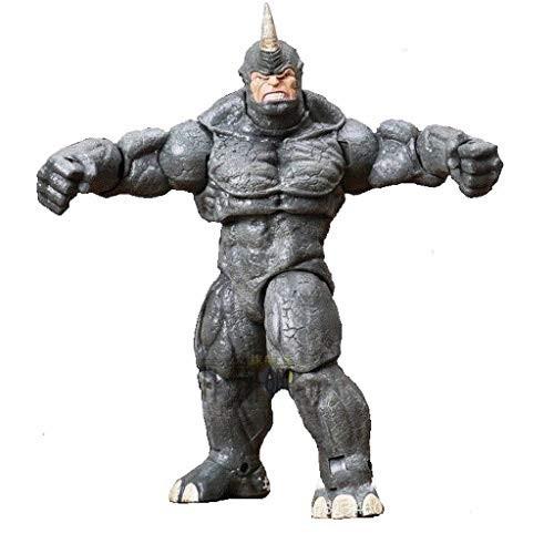 Modellino Rhino Man da 20 cm, saga Spiderman Marvel