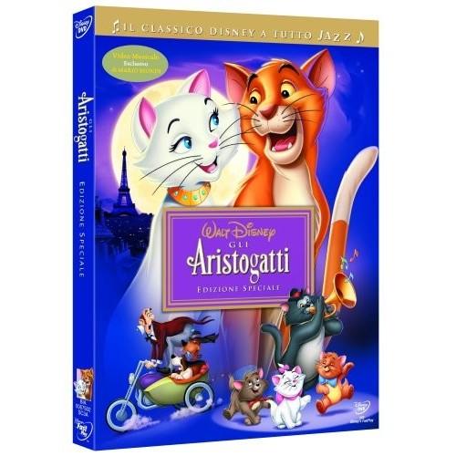 Film Gli Aristogatti in DVD, blue Ray e VHS
