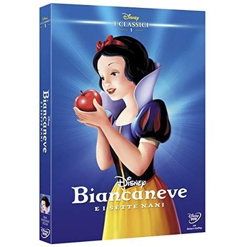 Film Biancaneve e I Sette Nani in Blue Ray, DVD e VHS