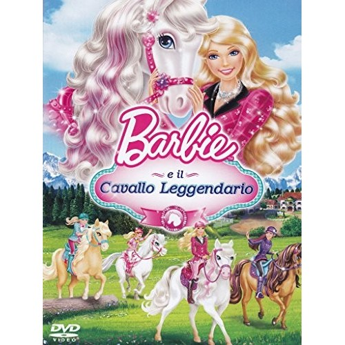 Film Barbie E Il Cavallo Leggendario in Blue Ray